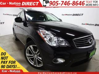 Used 2015 Infiniti QX50 Journey| AWD| SUNROOF| LEATHER| for sale in Burlington, ON