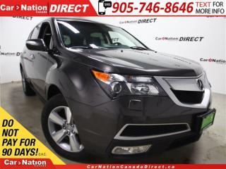 Used 2011 Acura MDX Technology Package| DVD| AWD| SUNROOF| NAVI| for sale in Burlington, ON