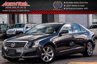 Used 2014 Cadillac ATS Sedan Luxury AWD|Sunroof|Nav.|Bose|Leather|HeatSeats|Backup_Cam for sale in Thornhill, ON