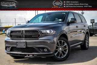 Used 2017 Dodge Durango GT|AWD|7 Seater|Navi|Bluetooth|R-Start|Backup Cam|Trailer Tow Group|20