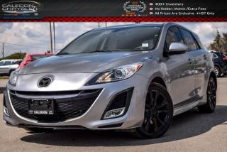 Used 2011 Mazda MAZDA3 GT|pwr Sunroof|Bluetooth|Leather|Heated Front Seats|Keyless Entry|17