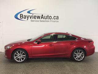 Used 2014 Mazda MAZDA6 GT- ROOF! HTD LTHR! ADAPTIVE CRUISE! NAV! BSA! for sale in Belleville, ON