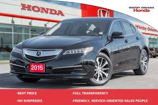 Used 2015 Acura TLX Base (AT) for sale in Whitby, ON