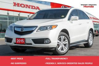 Used 2015 Acura RDX Base (AT) for sale in Whitby, ON