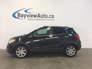Used 2016 Buick Encore - TURBO! AWD! ROOF! HTD LTHR! NAV! BSA! REV CAM! for sale in Belleville, ON