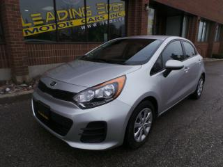 Used 2016 Kia Rio LX+ New Tires, Auto, Loaded for sale in Woodbridge, ON
