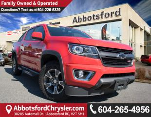Used 2016 Chevrolet Colorado Z71 ACCIDENT FREE! for sale in Abbotsford, BC
