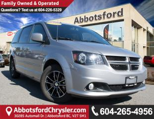 Used 2015 Dodge Grand Caravan R/T LOCALLY OWNED! for sale in Abbotsford, BC