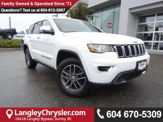 Used 2017 Jeep Grand Cherokee Limited *ACCIDENT FREE*ONE OWNER*LOCAL BC SUV* for sale in Surrey, BC