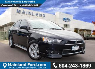 Used 2013 Mitsubishi Lancer SE LOW KMS. LOCAL, NO ACCIDENTS for sale in Surrey, BC