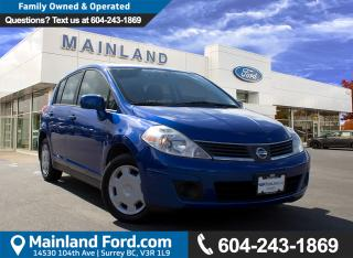 Used 2009 Nissan Versa 1.8S LOCAL, LOW KMS for sale in Surrey, BC