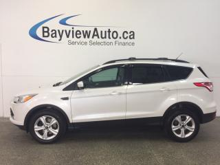 Used 2014 Ford Escape SE- 4WD! ECOBOOST! PANOROOF! HTD LTHR! SYNC! for sale in Belleville, ON