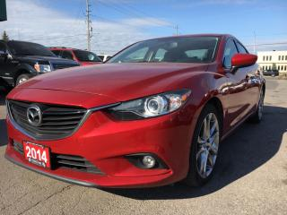 Used 2014 Mazda MAZDA6 GT $127.11 BI WEEKLY! $0 DOWN! for sale in Bolton, ON