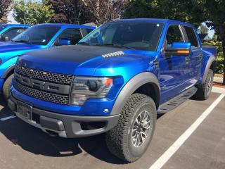 Used 2014 Ford F-150 SVT Raptor LOW KMS, LOCAL for sale in Surrey, BC