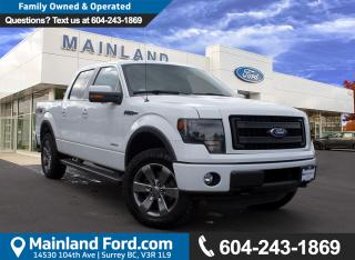 Used 2013 Ford F-150 FX4 LOCAL, LOW KMS for sale in Surrey, BC