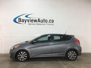 Used 2017 Hyundai Accent GLS - AUTO! SUNROOF! ALLOYS! ONLY 31,000KMS! for sale in Belleville, ON