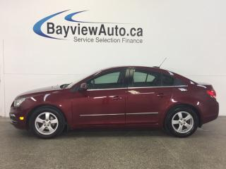 Used 2016 Chevrolet Cruze - REM STRT! ROOF! HTD LTHR! REV CAM! PIONEER! for sale in Belleville, ON