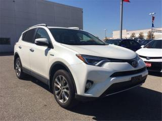 Used 2016 Toyota RAV4 Hybrid Limited for sale in Brampton, ON