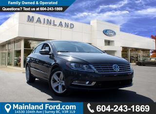 Used 2015 Volkswagen Passat CC Sportline LOW KMS, NO ACCIDENTS for sale in Surrey, BC