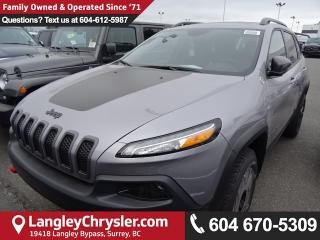 New 2018 Jeep Cherokee Trailhawk 4X4 for sale in Surrey, BC