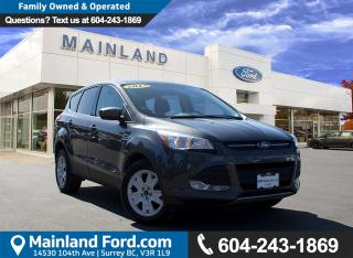 Used 2015 Ford Escape SE LOCAL, NO ACCIDENTS, LOW KMS for sale in Surrey, BC