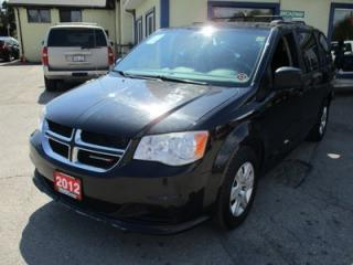 Used 2012 Dodge Grand Caravan FAMILY MOVING SE MODEL 7 PASSENGER 3.6L - V6.. CAPTAINS.. STOW-N-GO.. FLEX FUEL.. REAR A/C.. CD/AUX INPUT.. for sale in Bradford, ON