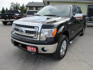 Used 2013 Ford F-150 WORK READY XLT MODEL 6 PASSENGER 3.5L - ECO-BOOST.. 4X4.. CREW.. SHORTY.. SYNC TECHNOLOGY.. BACK-UP CAMERA.. POWER PEDALS.. for sale in Bradford, ON