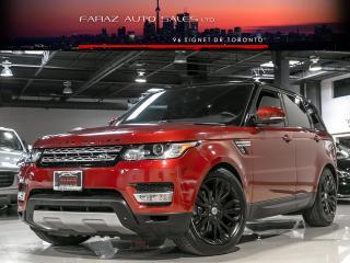Used 2014 Land Rover Range Rover Sport BLACK PACK|BLINDSPOT|360|PARK ASSIST|CARBON FIBER|LOADED for sale in North York, ON