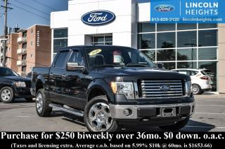 Used 2010 Ford F-150 XLT SUPERCREW 5.5' BED 4WD - XLT - XTR PKG - BLUETOOTH - TRAILER TOW for sale in Ottawa, ON
