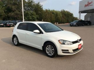 Used 2015 Volkswagen Golf Trendline..1 owner..accident free.. for sale in Milton, ON