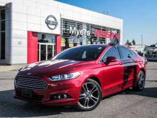 Used 2016 Ford Fusion SE, LEATHER, INTELLIGENT KEY, MOONROOF, BACK UP CAMERA for sale in Orleans, ON