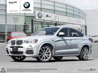 Used 2017 BMW X4 M40i for sale in Oakville, ON