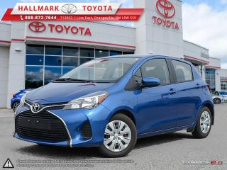 Used 2016 Toyota Yaris 5 Dr LE Htbk 4A for sale in Mono, ON