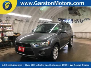 Used 2012 Mitsubishi Outlander GT*4WD*NAVIGATION*POWER SUNROOF*LEATHER*ROCKFORD FOSGATE AUDIO*BACK UP CAMERA*PHONE CONNECT* for sale in Cambridge, ON
