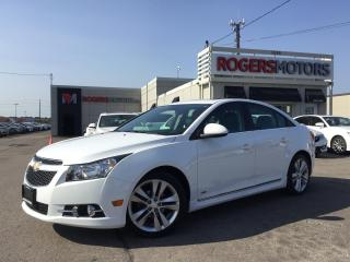 Used 2014 Chevrolet Cruze RS 2LT - NAVI - LEATHER - SUNROOF - CAMERA for sale in Oakville, ON