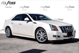 Used 2013 Cadillac CTS Premium Awd Nav Roof Bluetooth for sale in Thornhill, ON