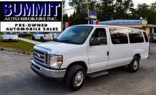 Used 2011 Ford E350 XLT | CAR-PROOF CLEAN | 15 PASSENGER | REAR A/C for sale in Richmond Hill, ON