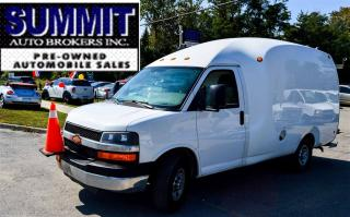 Used 2010 Chevrolet Express 3500 G3500 | CAR-PROOF CLEAN | BUBBLE VAN | 12 FEET for sale in Richmond Hill, ON