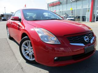 Used 2008 Nissan Altima 3.5 SE | ALLOYS | LEATHER | MANUAL | LOW KM'S | for sale in St Catharines, ON