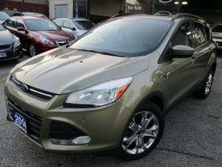 Used 2014 Ford Escape SE-LEATHER-PANORAMIC-ROOF-NAV-CAMERA-LOADED for sale in Scarborough, ON