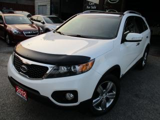 Used 2012 Kia Sorento TECH-PKG-Luxury-NAVIGATION-CAMERA-AWD-LEATHER for sale in Scarborough, ON