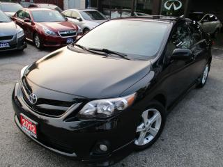 Used 2012 Toyota Corolla S-SUN-ROOF-ALLOYS-HEATED-SPORT for sale in Scarborough, ON