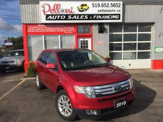 Used 2010 Ford Edge SEL|LEATHER|PANORAMIC ROOF for sale in London, ON