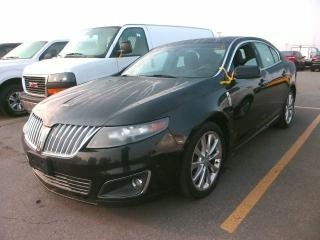 Used 2011 Lincoln MKS AWD-3.5L-EcoBoost-NAV-CAMERA-LOADED-ONE-OWNER- for sale in Scarborough, ON