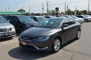 Used 2015 Chrysler 200 Limited - Remote Start, Winter Tires, Heated Seats for sale in London, ON