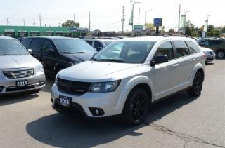 Used 2014 Dodge Journey SXT - Blacktop Edition, Roof Rack, Bluetooth, Sat for sale in London, ON