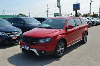 Used 2015 Dodge Journey Crossroad - V6, Leather, AWD, GPS for sale in London, ON