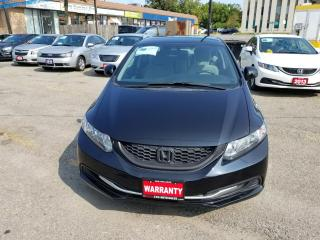 Used 2013 Honda Civic LX ONTARIO CAR ACCIDENT FREE for sale in Brampton, ON