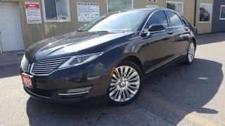 Used 2013 Lincoln MKZ NAVIGATION-SUNROOF-LEATHER-BACK UP CAMERA for sale in Tilbury, ON