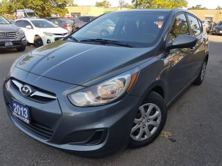 Used 2013 Hyundai Accent GL-new brakes-new tires-super clean for sale in Mississauga, ON